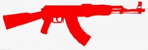 Red Assault Rifle