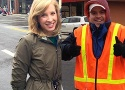 Alison Parker and Adam Ward. Photo: WDBJ7